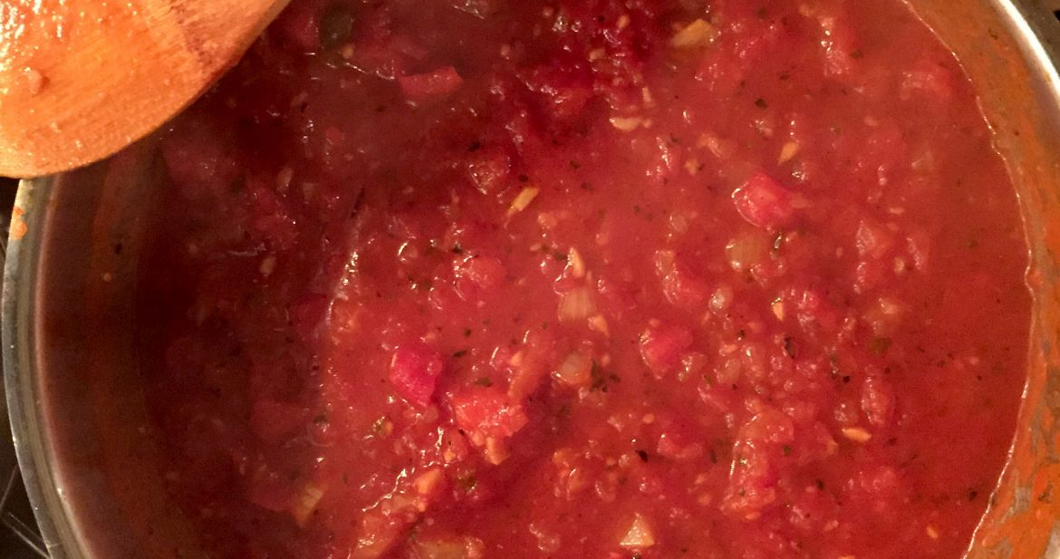 Homemade Marinara Sauce | Friday Night Cooking