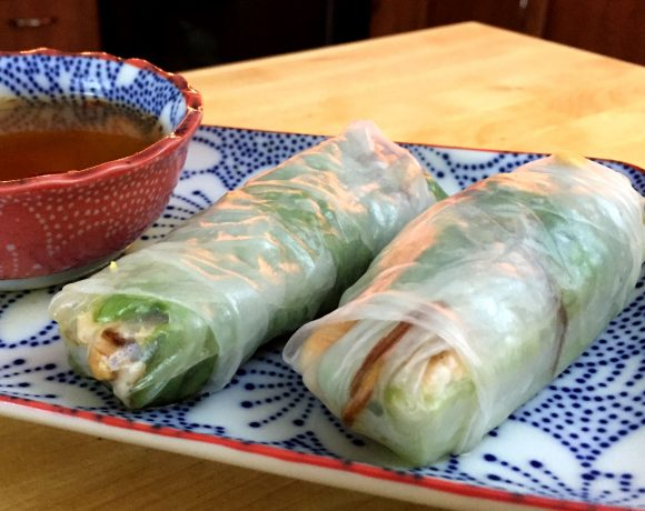 Vietnamese Salmon Rolls | Friday Night Cooking