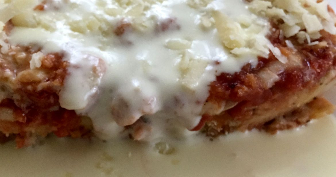 Chicken Parmigiana with White Wine Sauce | Friday Night Cooking