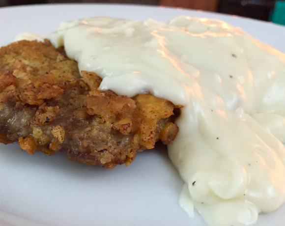 Southern Country Fried Steak and Gravy